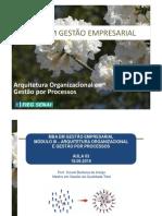 Arquitetura Organizacional e Gestão Por Processos - 3