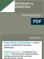 DISKUSI TOPIK - PSIKOTERAPI & KONSELING.pptx
