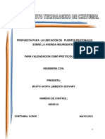 Protocolo Para Tesis-prupuesta de Puentes Peatonales
