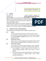 3.1. Especificaciones Tecnicas _ Generalidades