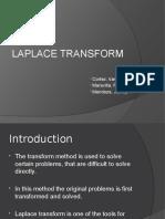 CR2 Laplace Transform