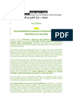 Press Release - Expulsion Petition - 25.5
