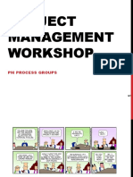 Project Management Workshop - PM Process Groups