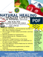 Flyer health seminar