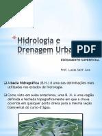 Aula método racional - Hidrologia