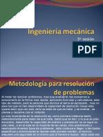 Ingenieria Mecanica 3º Sesion