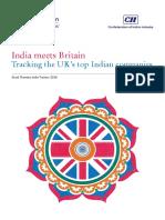 India Meets Britain 2016 Report