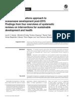 Article on UN Approach SDG en Health-May2016