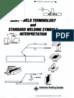 AWS_Joint Weld Terminology and Standard Welding Symbols Interpretation_1th Edition