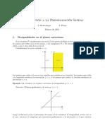 Introduccion a La Programacion Lineal - 2015-0 - Transparencias - Flores (1)