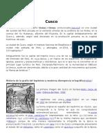 INFORMACION DEL CUSCO PERU