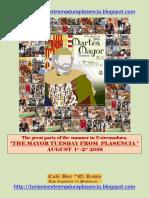 Martes Mayor Plasencia 2016 - Ingles