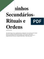 Caminhos Secundários, Rituais e Ordens.pdf