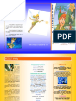 Triptico Peter Pan