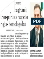 22-07-16 Adrián pide a gremio transportista respetar reglas homologadas
