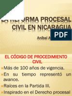 Reforma Procesal Civil en Nicaragua