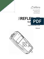 Manual REFLEX 20 - Calibra