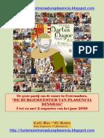 Martes Mayor Plasencia 2016-Neerlandes