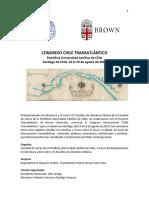 Programa Congreso Chile Transatlántico