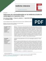 Medicina Intensiva - Indicaciones de la dexmedetomidina en las tendencias actuales desedoanalgesia en el paciente crítico.pdf