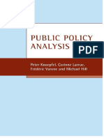 KNOEPFEL - Public Policy Analysis