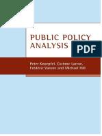 KNOEPFEL - Public Policy Analysis