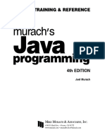 Murach Java Programming 4th Edition
