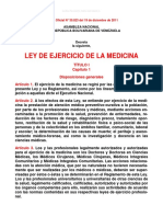 Ley de Ejercicio de la Medicina 2011.pdf
