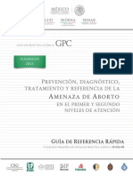 Prevencion, Diagnostico, Tratamiento y Referencia de la Amenaza de Aborto.pdf