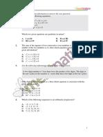 Gr 10 Math Test 1 Question