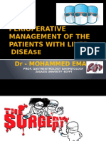 Perioperative Management of the Patients With Liver Disease