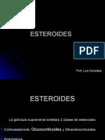 Clase 1 - Esteroides
