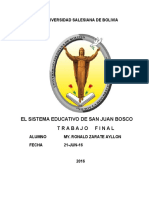 Sistema Educativo Don Bosco