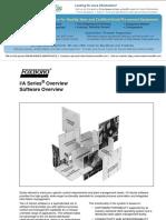 IA Series Software