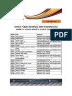 Ape Vacantes 25 29 Julio 2016 PDF