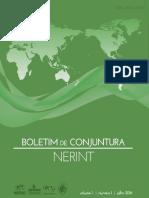 Boletim de Conjuntura Nerint V. 1 N. 1