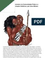 Ama Mizani - O Impacto Do Feminismo Na Comunidade Preta e a Busca Por Reaproriação Histórica