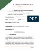 2016-Programa Politica e Historia Educativa Arg.