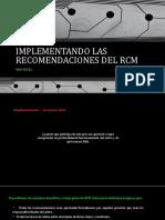 (7) Mantenimiento Proactivo - Imp Las Recomendaciones Del Rcm