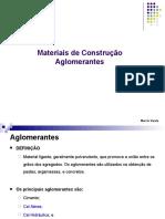 Aula_2_Materiais de Construcao I-Aglomerantes aula2