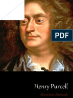 Breviarium Musicalis - Henry Purcell