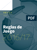 Reglas 2016-17 FIFA