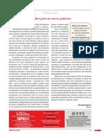 Editorial Desafíos para un nuevo gobierno