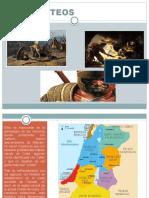 Los Filisteos y Los Hebreos