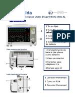 Guía rápida monitor de signos vitales