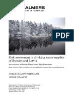 2015 La Evaluación de Riesgos en Los Suministros de Agua Potable