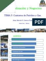 T5 Contratos de Petroleo y Gas