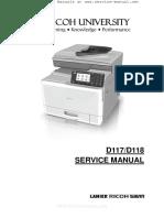 Aficio MPC305SP, MPC305SPF Service Manual