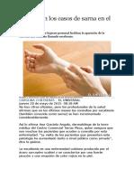 Aumentan Los Casos de Sarna en El País