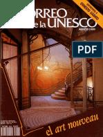 Correo de la  Unesco Art Nouveau